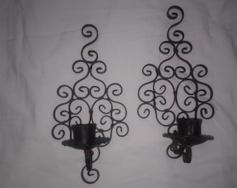 Gothic candle holder etsy for Iron accents promo code
