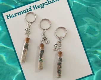 Mermaid Treasure Keychains