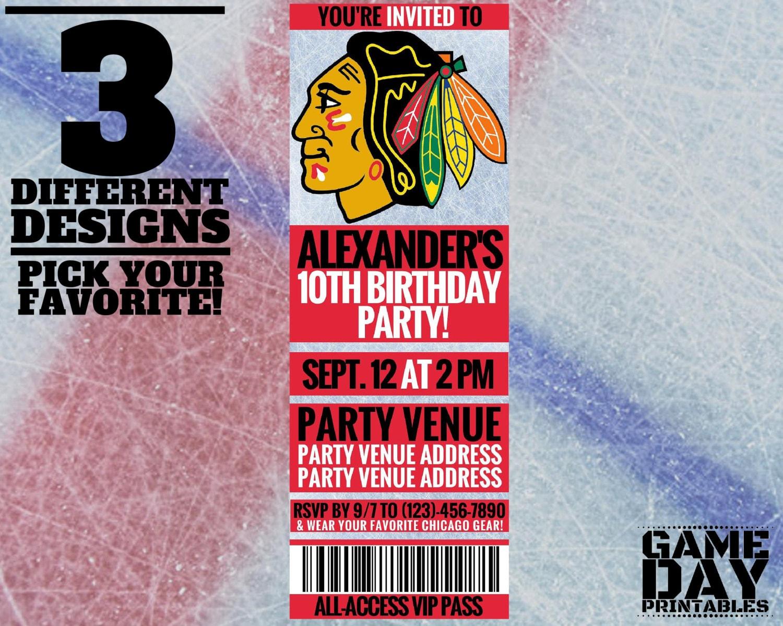 chicago blackhawks wedding invitations - 28 images - 32 best images ...