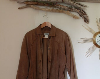 Suede Jacket Size M/L