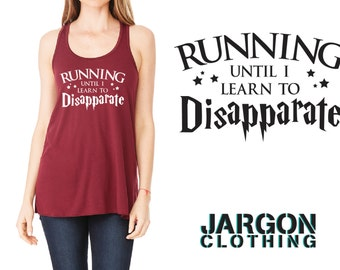Running Until I Learn To Disapperate