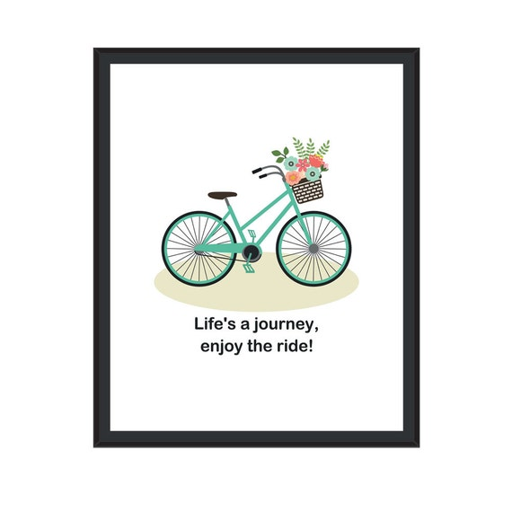 Motivational Inspirational Quotes: Items Similar To Motivational Posters, Life Is A Journey