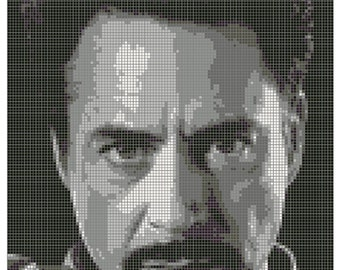 Tony Stark - Cross Stitch Patter