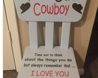 Cowboy Time Out Chair