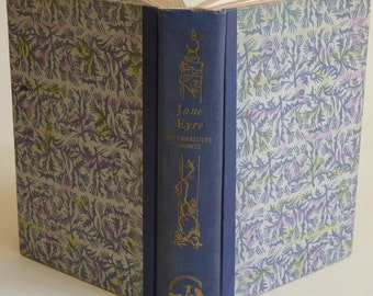Vintage Book - Classic Literature - Jane Eyre - Charlotte Bronte - Nell Booker - 1946