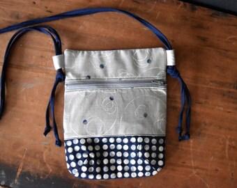 Handmade Crossbody Purse - Crossbody Pouch - Travel Bag