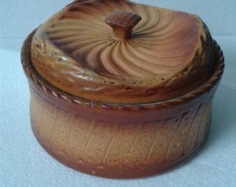 French pie dish casserole pot kitchenalia