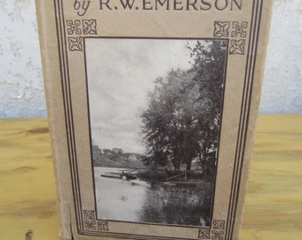 Vintage copy of The American Classic book Compensation by R.W. Emerson 1920