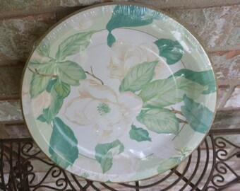 Magnolia Disposable Wedding Plates