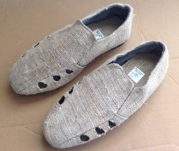 Eco Friendly Slippers: Eco Friendly Natural Pure Hemp Shoes