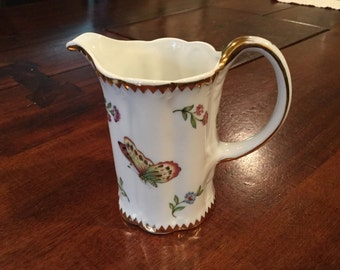 I.Godinger and Co. Butterfly, Ladybug and Bee porcelain creamer