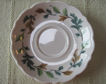 Syracuse China Saucer Restaurantware-Leaves - Item #1221
