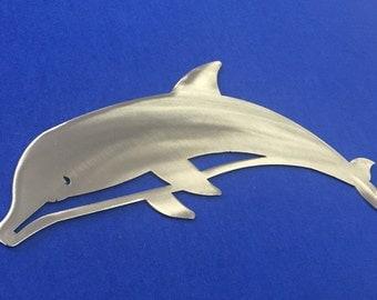 Dolphin Metal Wall Art Ocean Nautical Marine Sea Life Beach House home Decor