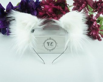 Classic White [ kitten ears ]