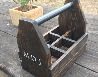 Rustic Beer Caddy | Reclaimed Wood Beer Caddy | Beer Tasting | Craft Beer Holder | Outdoor Accessories | Gifts for Him | FREE SHIPPING!