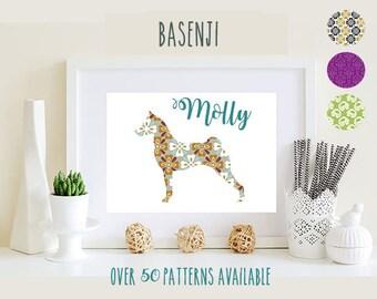 Basenji Art