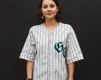 Retro Traditional Baseball Shirt - Long
