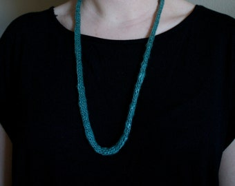 Seafoam I-Cord Necklace
