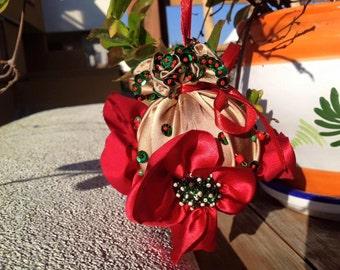 Christmas ball.Adornos navideños.Bola de Navidad hecho a mano