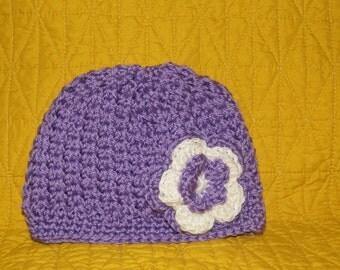 Baby girl hat,Newborn hat,hand made hat
