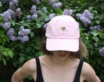 Pink Venus Fly Trap Baseball Cap
