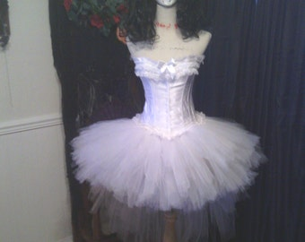 """80's inspired, Madonna """"Like A Virgin"""", Purge 3 ELECTION YEAR, 80's Prom, """"TIFFANY"""" bride of Chucky, corset, corset costume, Custom made"""