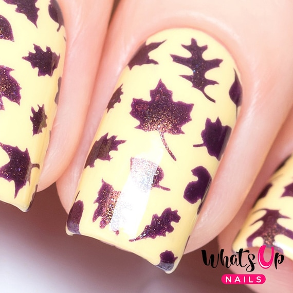 how to use a nail stencil
