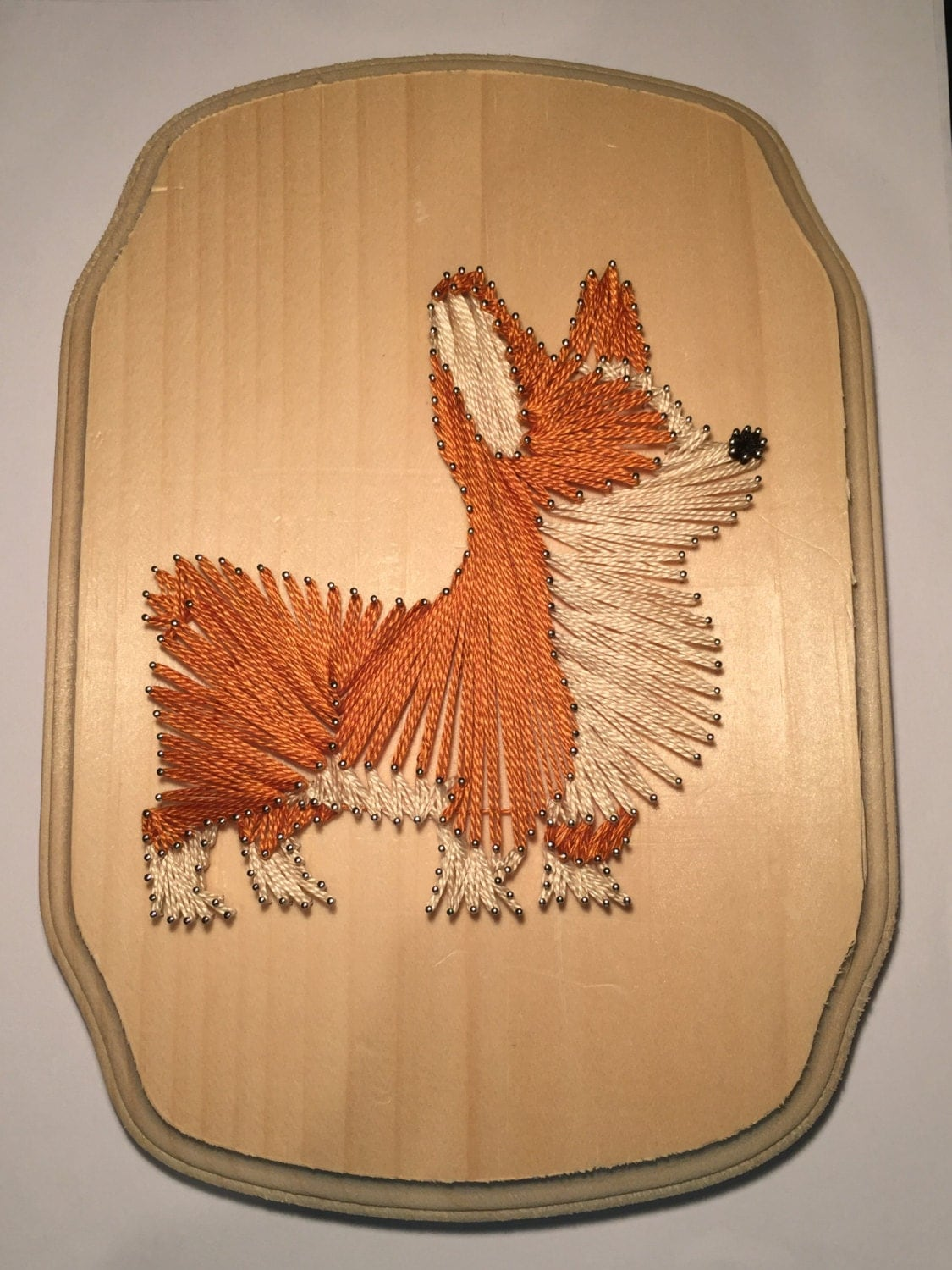 Corgi String Art Dog Welsh Pembroke Puppy Cute