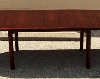 Rosewood Skovby Dining Table with three leaves