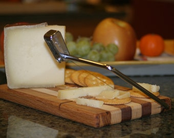 Cheese board and slicer