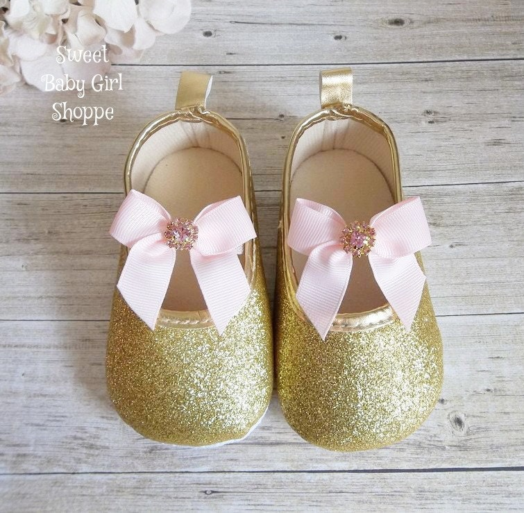 pink and gold baby shoes pink and gold birthday pink