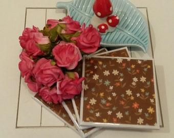 Floral Speckles