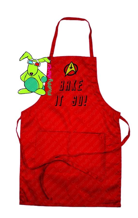 Bake it so! Star Trek Inspired Apron