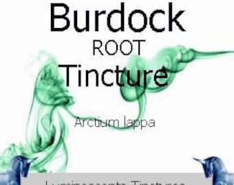 Burdock Root Tincture - Arctium lappa