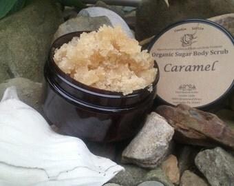 Organic Sugar Caramel Body Scrub