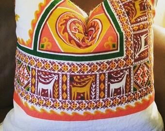 Slavic forest pillowcase