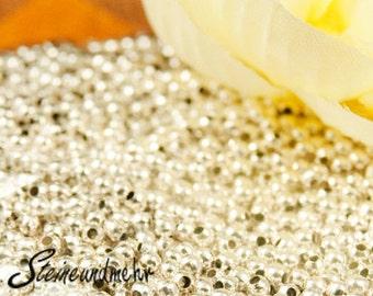 1g = CA 85St. Crimpperlen crimp beads 2, 0mm silver plated art. 844