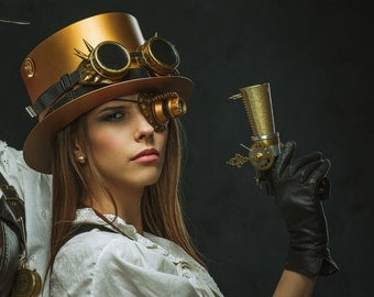 Steampunk Coloring Book 3