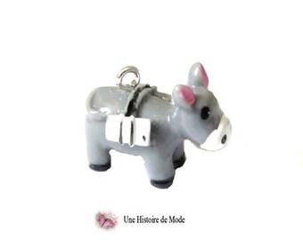 Donkey charm in 3D