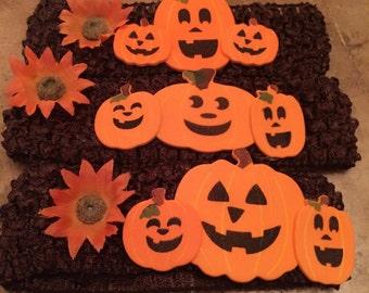 Autumn Pumpkin Headbands