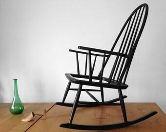 Scandinavian chair rocking style Ilmari Tapiovaara