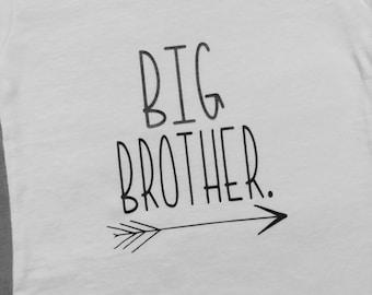 Big Brother Shirt/tribal/arrow