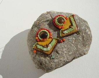 navajo Indian style earrings