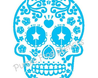 Skeleton STENCIL (Reusable), Graffiti - Different Sizes Available