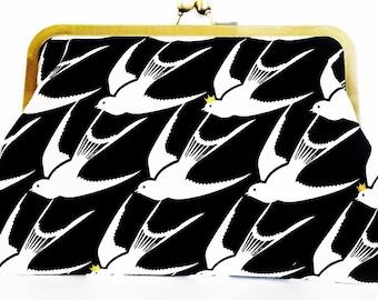 Designer Fabric Clutch Purse 'Flock'
