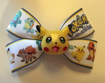 Pokemon Pikachu Bow Hair Accessories
