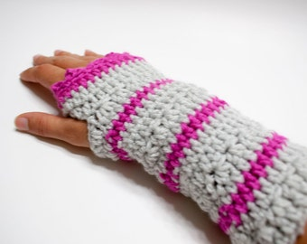 Cozy Crochet Fingerless Mitts