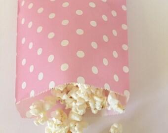 Pink  ini Dot Popcorn 25 Bags