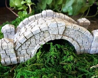 Miniature Gray Stone Bridge