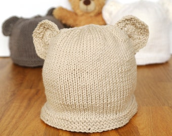 Knitting Pattern For All In One Teddy Bear : Baby & toddler knitting kits patterns & gifts by SprogletsKits
